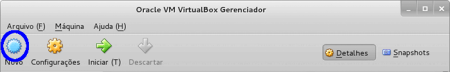 Oracle VM VirtualBox Gerenciador