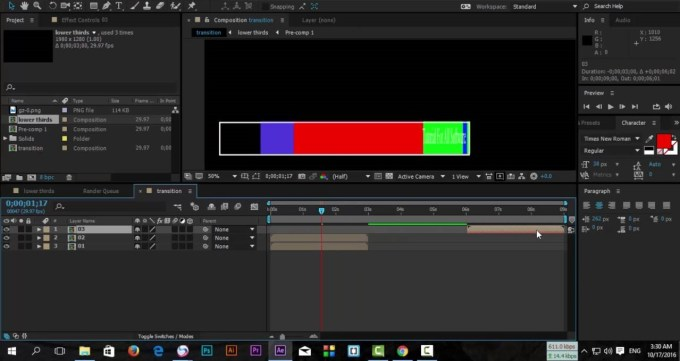 Adobe After Effects CC 2018 color image 1