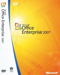 Download Microsoft Office 2007 Enterprise for both 32 bit and 64 bit processor.