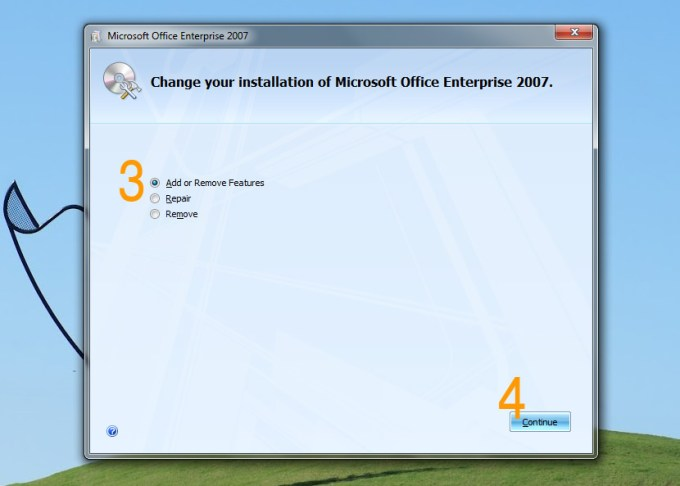 Download full Microsoft Office 2007 Enterprise installation setup