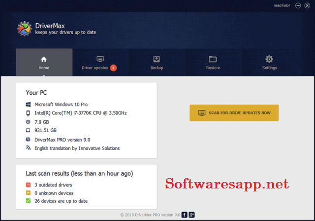 DriverMax Pro 12.14 Crack With Keygen Torrent 2021 [Latest]