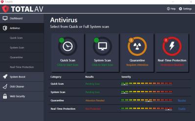 Total AV Antivirus Crack With Serial Key Full Torrent Download 2019