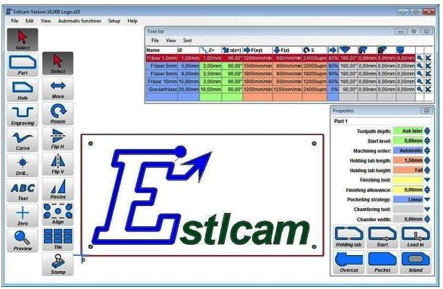 Estlcam Pro 11.224 Crack With License Key Free 2020