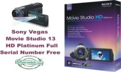Sony Vegas Movie Studio 13 HD Platinum Full Serial Number Free