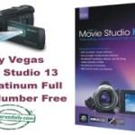 Sony Vegas Movie Studio 13 HD Platinum Full Serial Number Free
