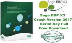 Sage ERP X3 Crack 2017 Full Serial Number Free Download