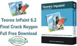 Teorex InPaint 6.2 Final Crack Keygen Full Free Download