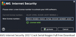 AVG Internet Security 2017 Crack Serial Keygen Full Free Download