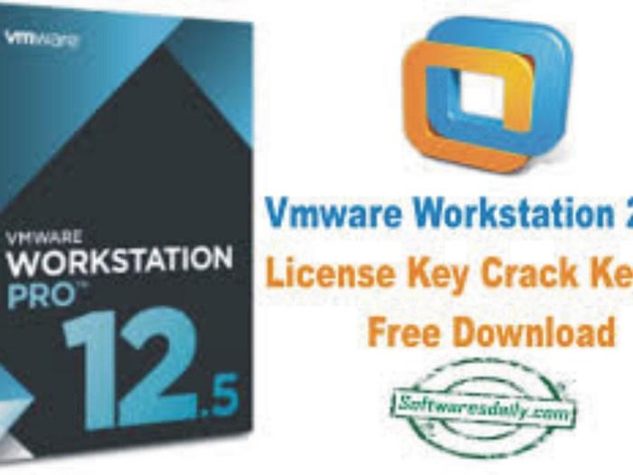 VMware Workstation 2017 License Key Crack Keygen Free Download