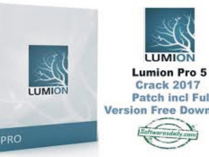 Lumion Pro 5 Crack 2017 Patch incl Full Version Free Download