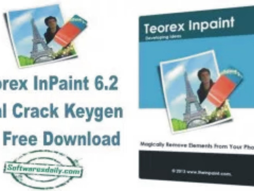 Teorex InPaint 6.2 Final Crack Keygen Full Free Download