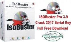 ISOBuster Pro 3.9 Crack 2017 Serial Key Full Free Download