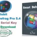 IObit Smart Defrag Pro 5.4 Crack Serial Key Free Download