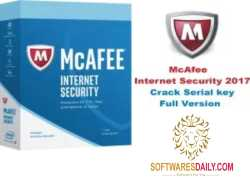 McAfee Internet Security 2017 Crack Serial key Full Version