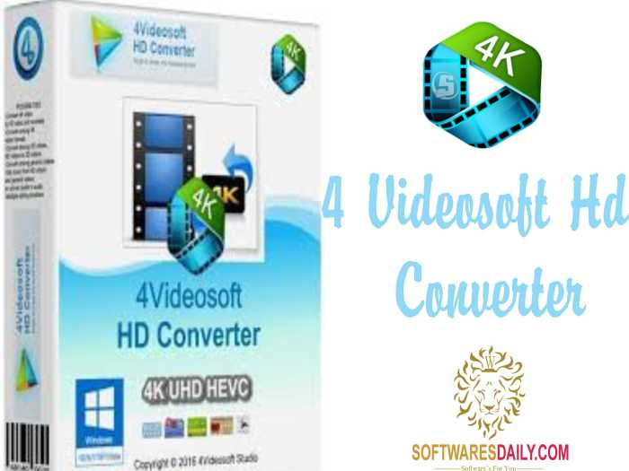 4Videosoft HD Converter 6.2 Crack & Keygen Download