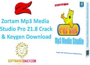 Zortam Mp3 Media Studio Pro 21.8 Crack & Keygen Download