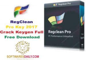 RegClean Pro Key 2017 Crack Keygen Full Free Download