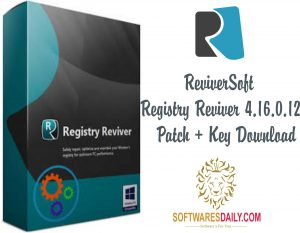 ReviverSoft Registry Reviver 4.16.0.12 Patch + Key Download