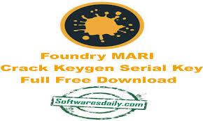 Foundry MARI Crack Keygen Serial Key Full Free Download