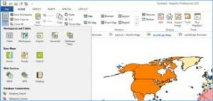 MapInfo Professional 12.5 Crack Full Serial Key Free Download