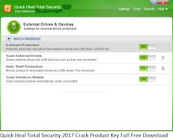 Quick Heal Total Security 2017 Crack + Product Key Full FreeQuick Heal Total Security 2017 Crack + Product Key Full Free
