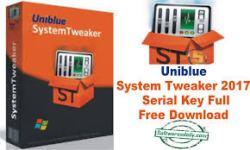 Uniblue System Tweaker 2017 Serial Key Full Free Download