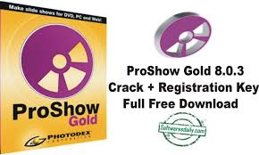 ProShow Gold 8.0.3 Crack + Registration Key Full Free Download