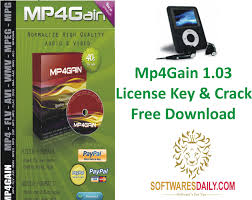 Mp4Gain 1.03 License Key & Crack Free Download