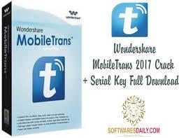 Wondershare MobileTrans 2017 Crack + Serial Key Full Download