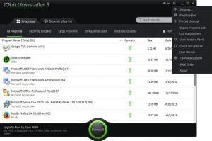 IObit Uninstaller Pro 6.8 Crack & License Key Free Download