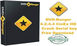 DVD-Ranger 6.2.4.4 CinEx HD Crack Serial key Free Download
