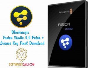 Blackmagic Fusion Studio 9.9 Patch + License Key Final Download