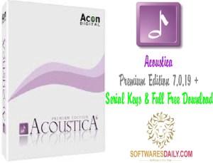 Acoustica Premium Edition 7.0.19 + Serial Keys & Full Free Download