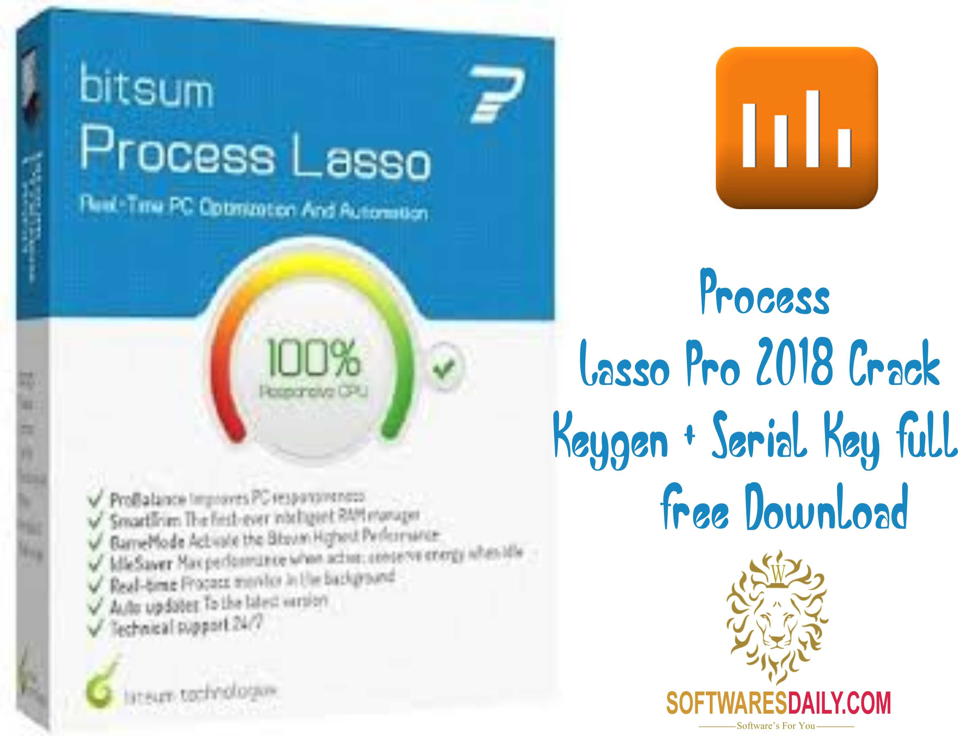 Process Lasso Pro 2018 Crack Keygen + Serial Key Full Free Download