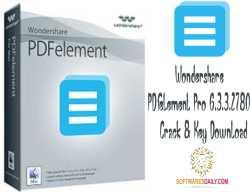 Wondershare PDFelement Pro 6.3.3.2780 Crack & Key Download