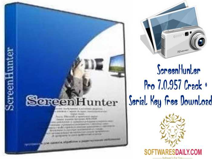 ScreenHunter Pro 7.0.957 Crack + Serial Key Free Download