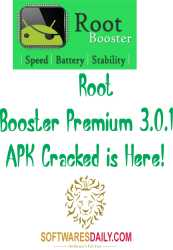 Root Booster Premium 3.0.1 APK Cracked is Here!