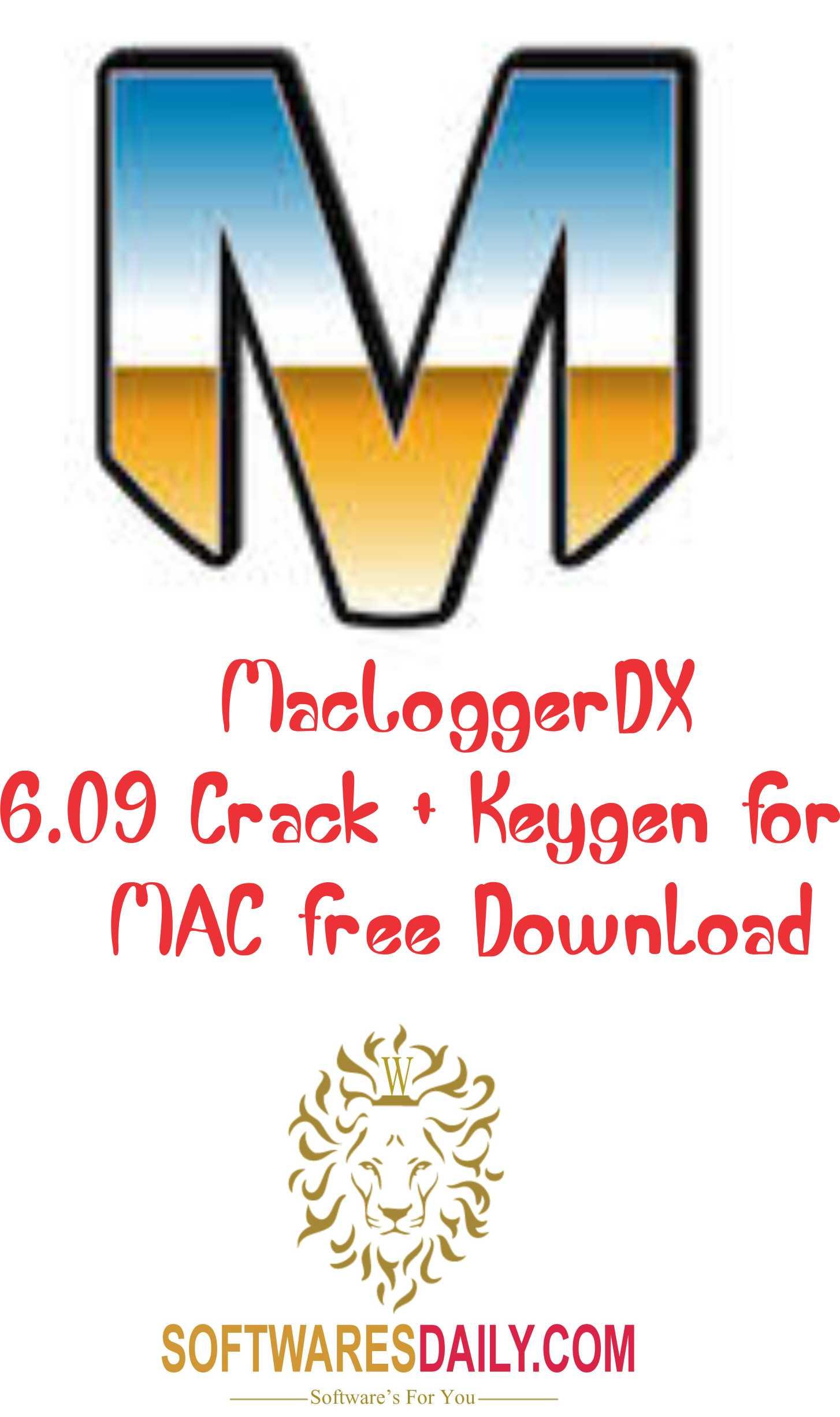 MacLoggerDX 6.09 Crack + Keygen For MAC Free Download
