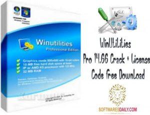 WinUtilities Pro 14.66 Crack + License Code Free Download
