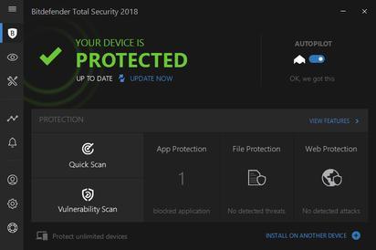 Bitdefender Total Security 2019 Crack With Registration Key Download