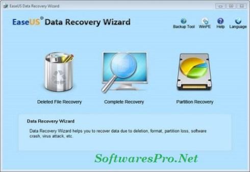 EaseUS Data Recovery Wizard 12.0 Crack