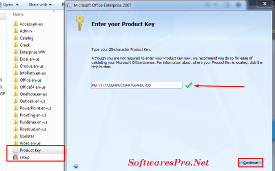 microsoft free product key 2007