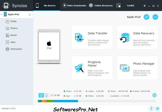 Anvsoft SynciOS Data Transfer Keygen