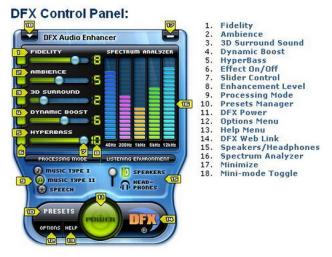 DFX Audio Enhancer Crack Full