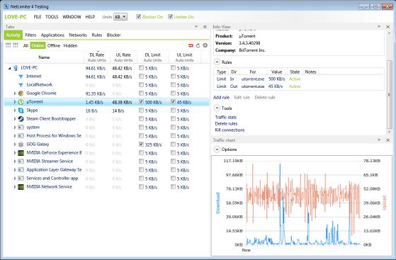 NetLimiter 4 Keygen