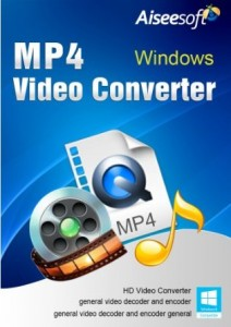 Aiseesoft MP4 Video Converter Crack