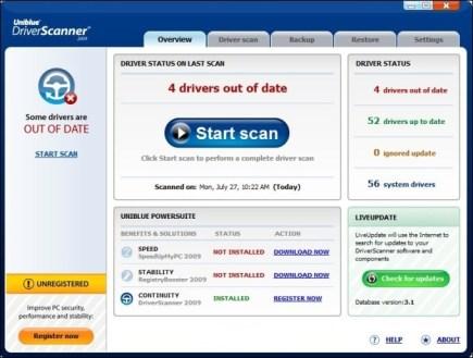 Uniblue DriverScanner 2016 Free Download