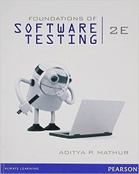Foundations Of Software Testing By Mathur Author