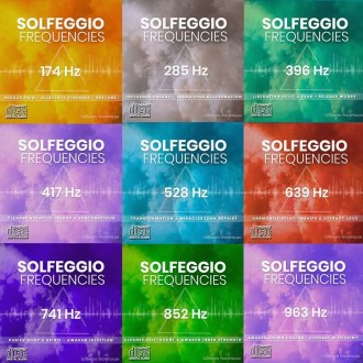 Solfeggio Frequencies - Nine Solfeggio Audio CDs