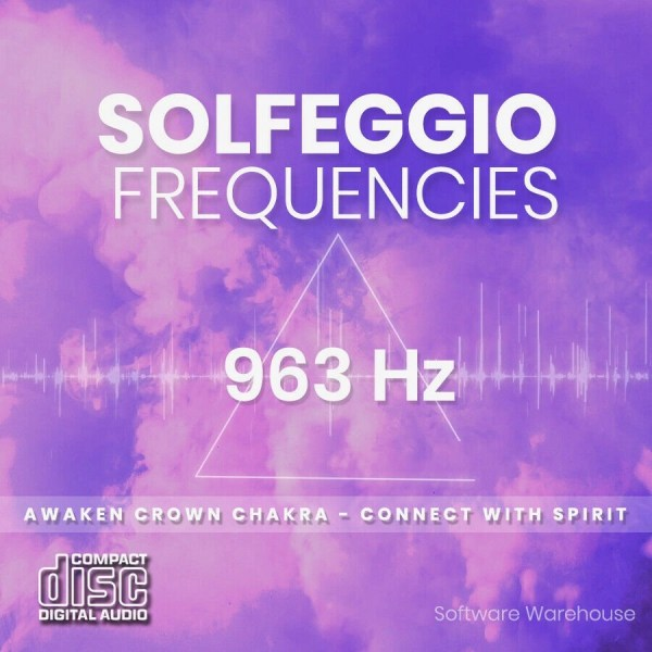 Solfeggio Frequencies - 963 Hz CD